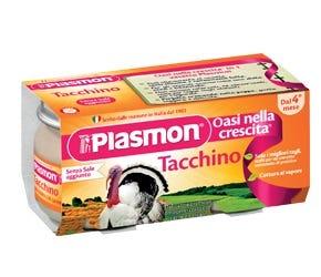 Image of Plasmon Omogenizzato Tacchino 2 Vasetti da 80 g