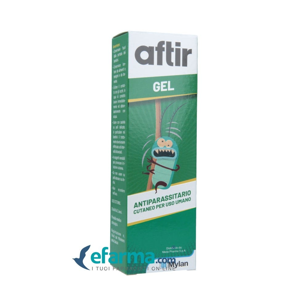 Image of Aftir Gel Antiparassitario Pediculosi 40 g