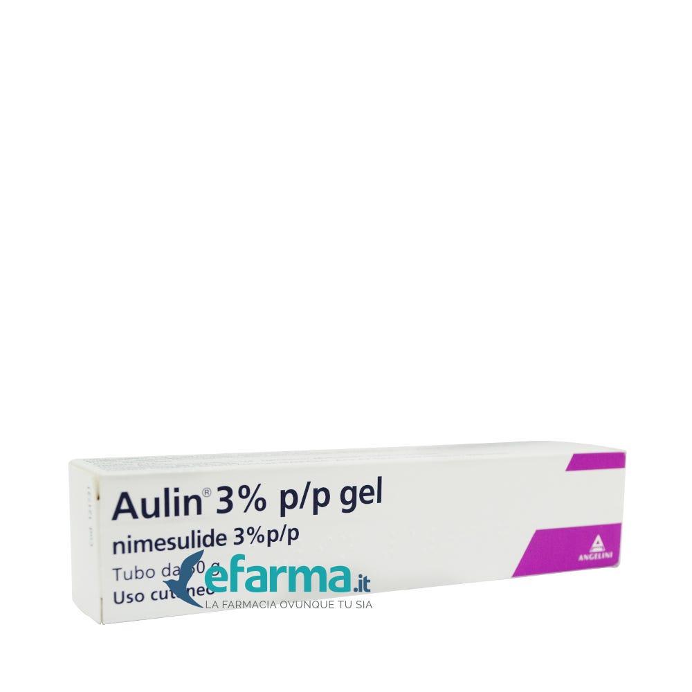 Image of Aulin 3% p/p Nimesulide Gel Antinfiammatorio 50 g