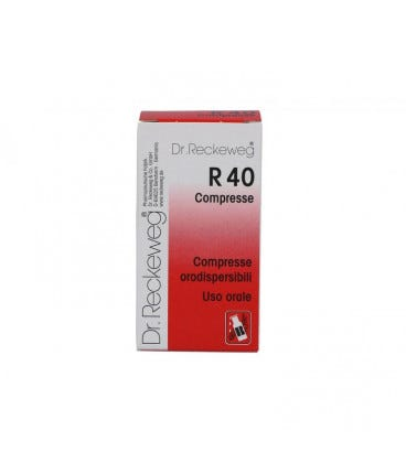 Image of Dr. Rekeweg R40 Omeopatico 100 Compresse