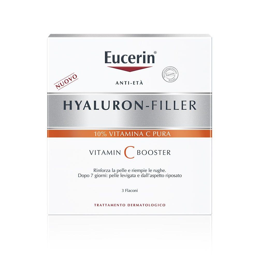 Image of Eucerin Hyaluron-Filler Vitamin C Booster Antietà 3x8 ml