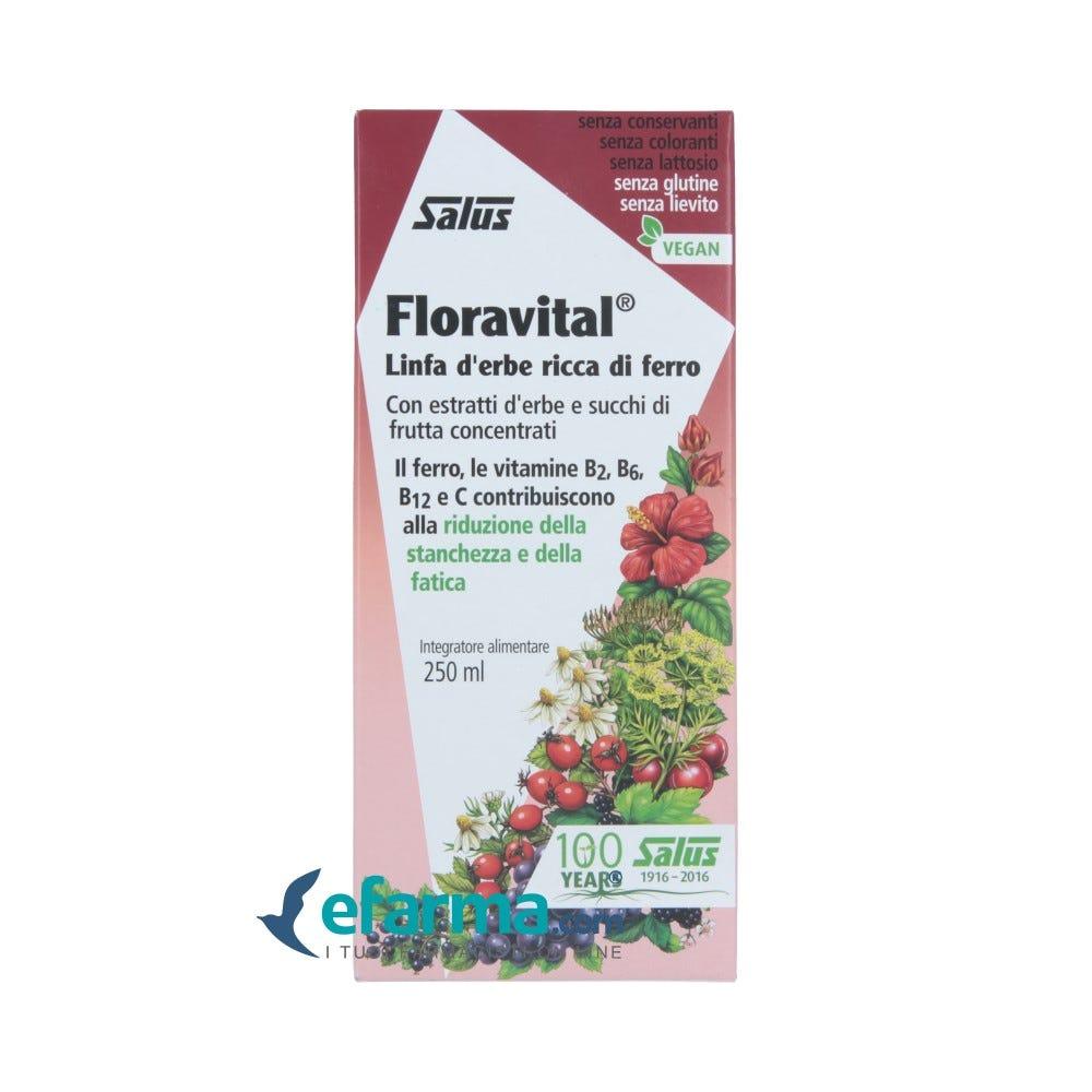 Image of Salus Floravital Integratore Integratore Ferro 250 ml