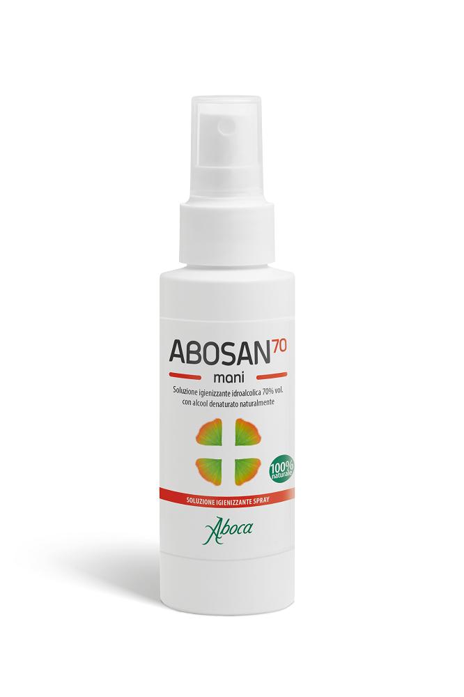 Image of Aboca Abosan 70 Soluzione Igienizzante Mani 100 ml