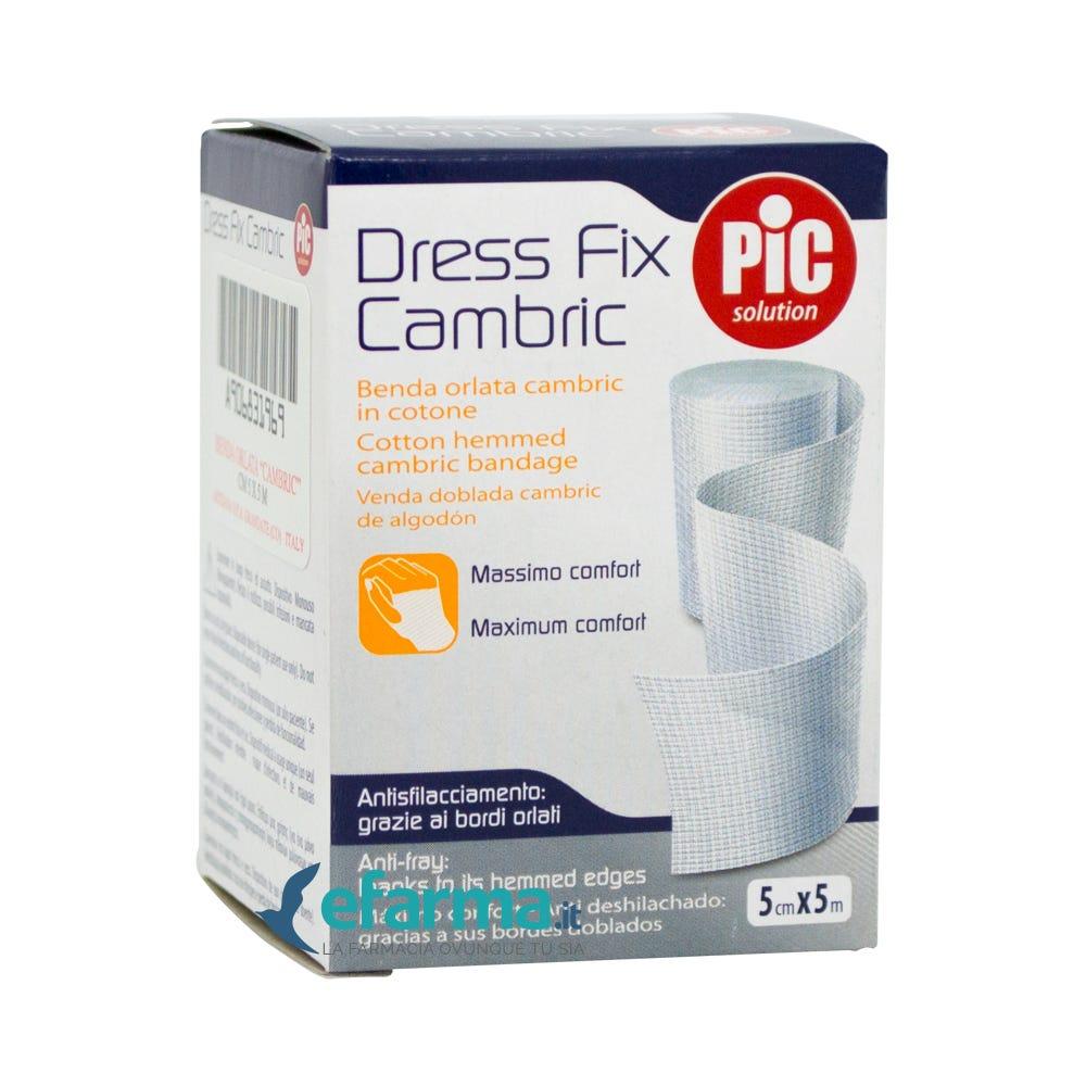 Image of Pic Dress Fix Cambric Benda Orlata In Cotone cm 5x5 m 12 Bende