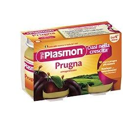 Image of Plasmon Omogenizzato Prugna 2 vasetti da 104 g
