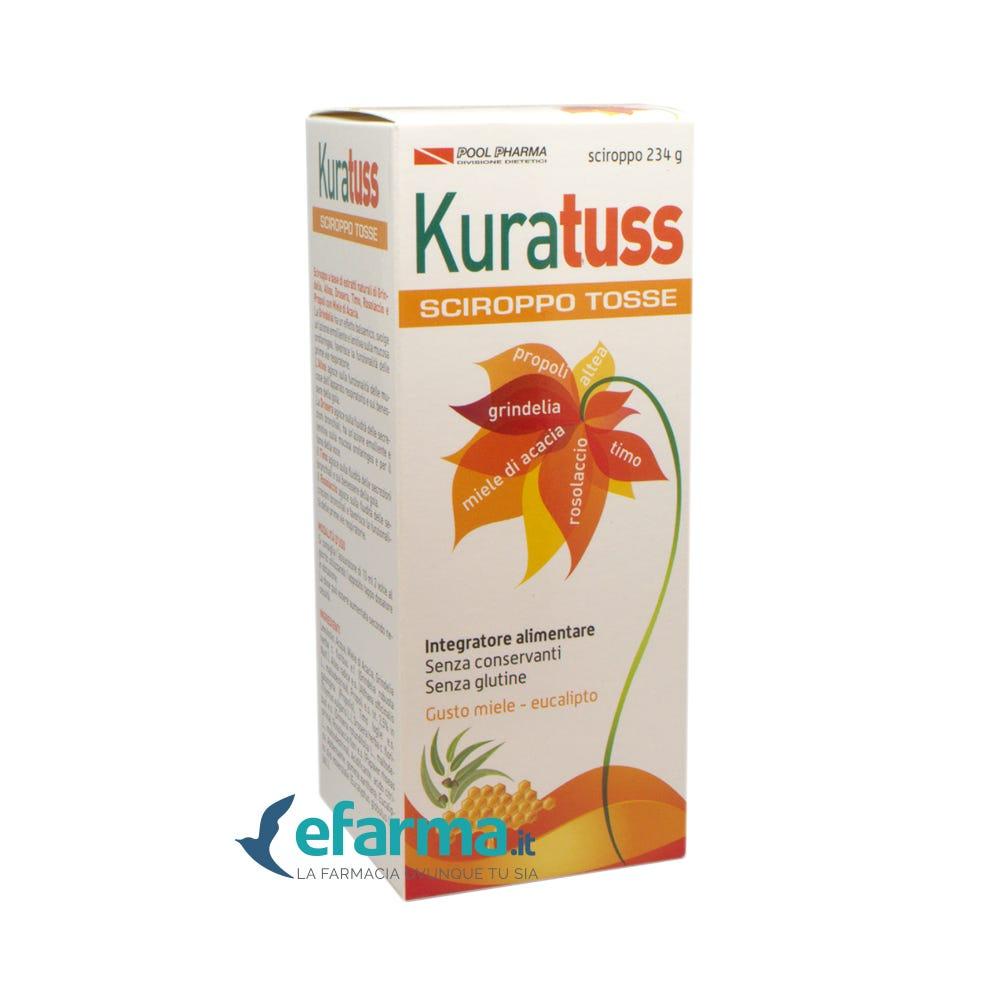 Image of Kuratuss Natural Sciroppo Tosse Adulti Integratore Tosse Secca E Grassa 234 g