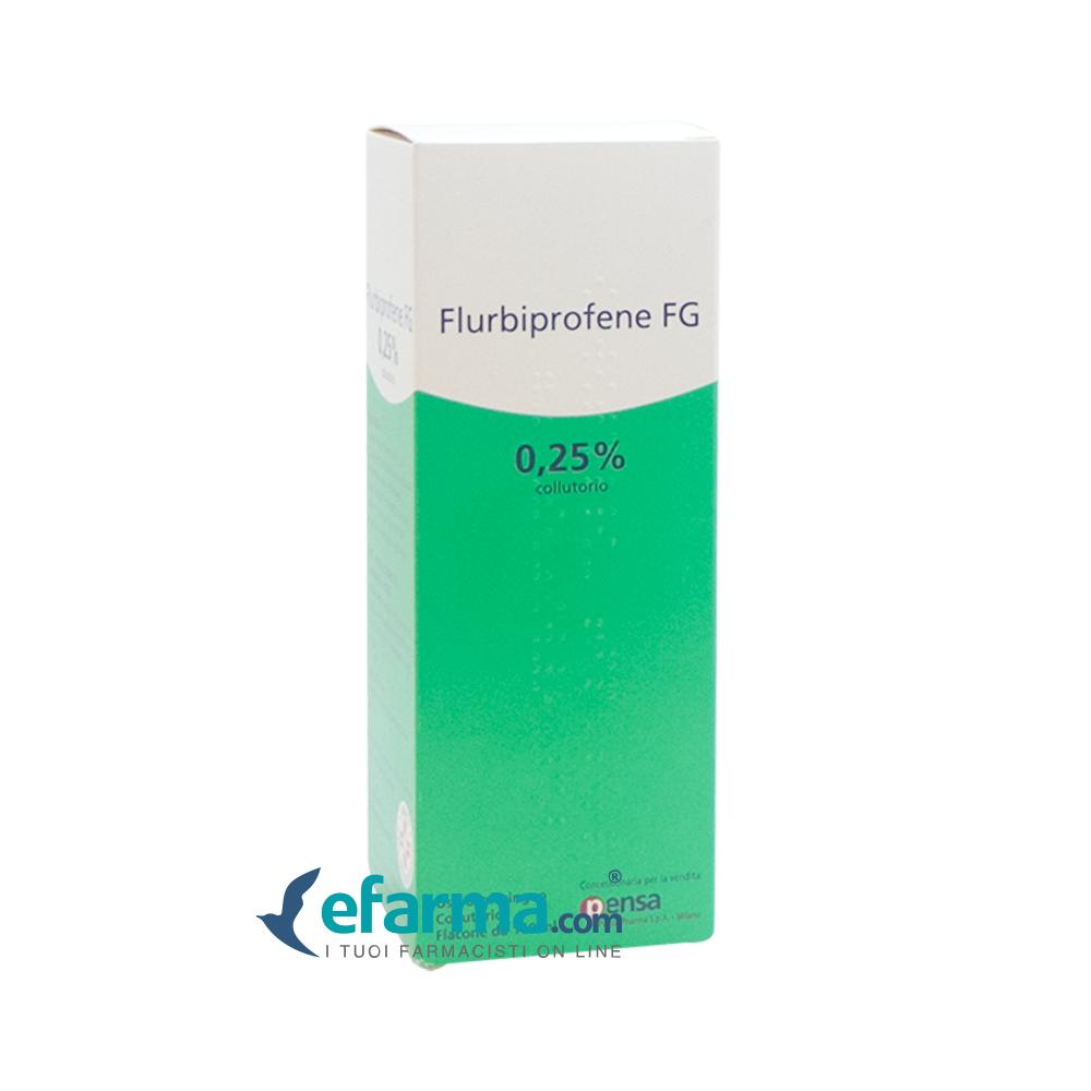 Image of Flurbiprofene FG Collutorio 0,25% Antinfiammatorio 160 ml